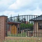 Dom-Bud Koronowo - ogrodzenie stalowe