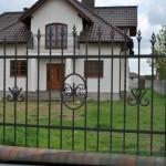 Dom-Bud Koronowo - ogrodzenie stalowe ozdobne kute