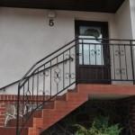 Dom-Bud Koronowo - balustrada schodowa ozdobna kuta