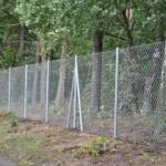 Dom-Bud - montaż płotu ogrodzenia z siatki 2